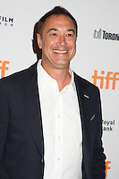 PRODUCER JORDAN LEVY - RED CARPET OF THE FILM 'THE TERRY KATH EXPERIENCE' - 41ST TORONTO INTERNATIONAL FILM FESTIVAL 2016 . 15/09/2016. # FESTIVAL INTERNATIONAL DU FILM DE TORONTO 2016