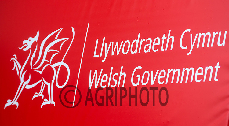 Welsh Government sign<br /> Picture Tim Scrivener 07850 303986<br /> ….covering agriculture in the UK….