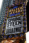 UP ON THE MARQUEE: 'Springsteen on Broadway'