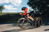 6th October 2021 Womens Cycling Tour, Stage 3. Individual Time Trial; Atherstone to Atherstone. Christine Majerus.