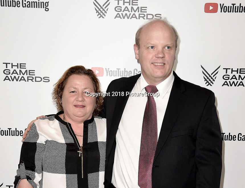 LOS ANGELES - DECEMBER 6: Claudia Olsen and Ivar Olsen attend the 2018 Game Awards at the Microsoft Theater on December 6, 2018 in Los Angeles, California. (Photo by Scott Kirkland/PictureGroup)