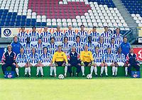 VOETBAL: HEERENVEEN: SC Heerenveen teamfoto 1999, ©foto Martin de Jong