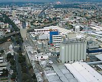 aerial photograph of the Modelo Corona brewery in Mexico City | fotografía aérea de la cervecería Modelo Corona en la Ciudad de México
