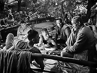 (L to R) Peter Lorre, Philip<br /> Dorn, Helmut Dantine,<br /> George Tobias, Vladimir Sokoloff in<br /> PASSAGE TO MARSEILLE