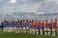 Saint Paul, MN - Tuesday September 03, 2019 : Player Honorees and UWSNT prior to the USWNT 2019 Victory Tour match versus Portugal at Allianz Field, on September 03, 2019 in Saint Paul, Minnesota.