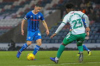 Ian Henderson (Rochdale AFC)  during the Sky Bet League 1 match between Rochdale and Plymouth Argyle at Spotland Stadium, Rochdale, England on 15 December 2018. Photo by James  Gill / PRiME Media Images.