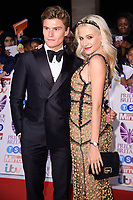 Oliver Cheshire and Pixie Lott<br /> at the Pride of Britain Awards 2017 held at the Grosvenor House Hotel, London<br /> <br /> <br /> ©Ash Knotek  D3342  30/10/2017