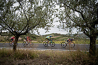 breakaway group<br /> <br /> Men's Elite Road Race from Imola to Imola (258km)<br /> <br /> 87th UCI Road World Championships 2020 - ITT (WC)<br /> <br /> ©kramon