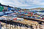 A lack of spectators at the Irish Offshore Rowing Championships due to Covid 19 restrictions held in  Portmagee on Saturday didn't hamper the competitors in what could only be said as ideal conditions.
