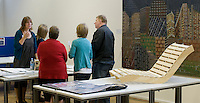 3D Design Dept., Open Day at Kingston College when prospective students and their parents look around.