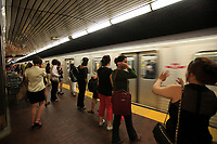 Toronto (ON) CANADA - July 2012 -  Toronto  Transit Commision : <br /> subway