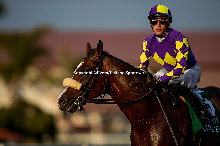 JULY 17, 2021: Express Train with Juan Hernanadez wins the San Diego Handicap at Del Mar Fairgrounds in Del Mar, California on July 17, 2021. Evers/Eclipse Sportswire/CSM