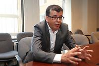 FILE PHOTO - Ahmed Benbouzid, était, jusqu'à tout dernièrement, directeur Innovation sociale et Diversité à la Conférence régionale des élus de Montréal (CRÉ), un organisme, regroupant les leaders politiques et socio-économiques de l'île de Montréal, ayant pour mandat de favoriser le développement de son territoire par une approche concertée.