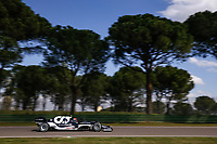 10 GASLY Pierre (fra), Scuderia AlphaTauri Honda AT02, action during the Formula 1 Pirelli Gran Premio Del Made In Italy E Dell emilia Romagna 2021 from April 16 to 18, 2021 on the Autodromo Internazionale Enzo e Dino Ferrari, in Imola, Italy - <br /> Formula 1 Gran Premio Del Made In Italy E Dell Emilia Romagna 2021  16/04/2021<br /> Photo DPPI/Panoramic/Insidefoto <br /> ITALY ONLY