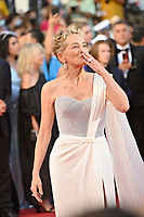 CANNES, FRANCE. July 17, 2021: Sharon Stone at the Closing Gala & Awards Ceremony, and From Africa With Love Premiere at the 74th Festival de Cannes.<br /> Picture: Paul Smith / Featureflash
