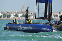 Artemis Racing, JULY 23, 2016 - Sailing: Artemis Racing during day one of the Louis Vuitton America's Cup World Series racing, Portsmouth, United Kingdom. (Photo by Rob Munro/Stewart Communications)