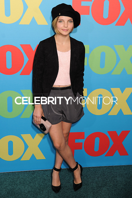 NEW YORK CITY, NY, USA - MAY 12: Camren Bicondova at the FOX 2014 Programming Presentation held at the FOX Fanfront on May 12, 2014 in New York City, New York, United States. (Photo by Celebrity Monitor)