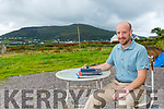 Dr Brendan O'Keeffe making a new home in South Kerry, pictured here at Cloghanelinaghan just outside Cahersiveen.