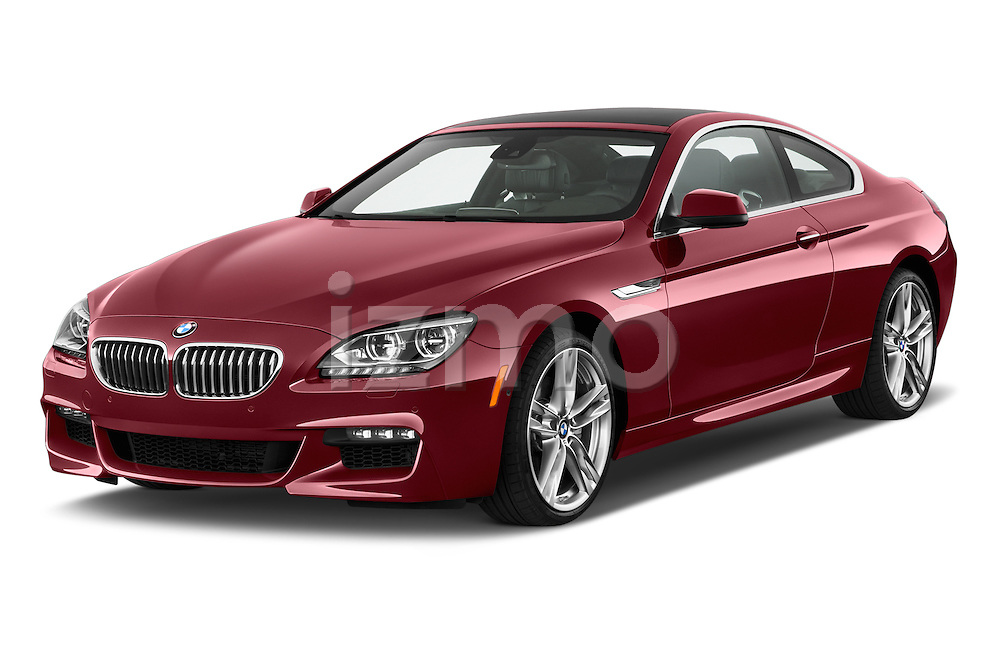 Front three quarter view of a 2014 BMW 6 Series Coupe