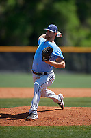 Tampa Bay Rays pitcher Chris Muller (94) during a Minor League Spring Training game against the Boston Red Sox on March 25, 2019 at the Charlotte County Sports Complex in Port Charlotte, Florida.  (Mike Janes/Four Seam Images)