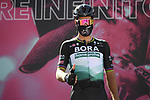 Peter Sagan (SVK) Bora-Hansgrohe at sign on before the start of Stage 8 of the 103rd edition of the Giro d'Italia 2020 running 200km from Giovinazzo to Vieste, Sicily, Italy. 10th October 2020.  <br /> Picture: LaPresse/Marco Alpozzi | Cyclefile<br /> <br /> All photos usage must carry mandatory copyright credit (© Cyclefile | LaPresse/Marco Alpozzi)