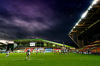 21st November 2020; Welford Road Stadium, Leicester, Midlands, England; Premiership Rugby, Leicester Tigers versus Gloucester Rugby; A general view of play during the second half