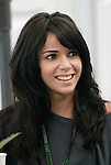 Motorsports / Formula 1: World Championship 2007, GP of Japan, Fuji Speedway,  Raquel de Rosario Macias, girlfriend of  1 Fernando Alonso (ESP, Vodafone McLaren Mercedes)