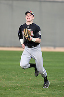 January 16, 2010:  Brian O'Keefe (Loudonville, NY) of the Baseball Factory Northeast Team during the 2010 Under Armour Pre-Season All-America Tournament at Kino Sports Complex in Tucson, AZ.  Photo By Mike Janes/Four Seam Images
