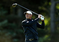 140719 | The 148th Open - Sunday Practice<br /> <br /> Tiger Woods on the 4th tee box at Royal Portrush Golf Club, County Antrim, Northern Ireland. Photo by John Dickson - DICKSONDIGITAL