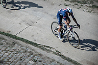 Lasse Norman Hansen (DEN/Alpecin-Fenix)<br /> <br /> Antwerp Port Epic 2020 <br /> One Day Race: Antwerp to Antwerp 183km; of which 28km are cobbles and 35km is gravel/off-road<br /> Bingoal Cycling Cup 2020