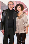 "Jose Sacristan and his Wife attend the Premiere of the movie ""MAGICAL GIRL"" at Callao Cinemas in Madrid, Spain. October 16, 2014. (ALTERPHOTOS/Carlos Dafonte)"