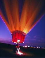 Balloons, Dawn Patrol, Albuquerque, New Mexico<br />