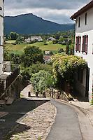 Europe/France/Aquitaine/64/Pyrénées-Atlantiques/Pays-Basque/Sare: le chemin romain et les pyrénées basques