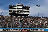 Monster Energy NASCAR Cup Series<br /> Can-Am 500<br /> Phoenix Raceway, Avondale, AZ USA<br /> Sunday 12 November 2017<br /> Matt Kenseth, Joe Gibbs Racing, Circle K Toyota Camry takes the checkered flag and the win<br /> World Copyright: Nigel Kinrade<br /> LAT Images