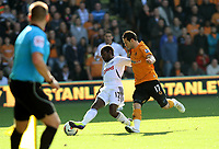 Nathan Dyer caused Wolves a lot of problems outwide<br /> Barclays Premiere League, Wolves V Swansea City, Molineux, 22/10/11<br /> Ben Wyeth / Athena Picture Agency<br /> info@athena-pictures.com