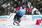 Prince George, B.-C., 16 February/2019 -  during middle distance biathlon event on day 01 of the 2019 World Para Nordic skiing Championships in Prince George, B.C. Photo Bob Frid/Canadian Paralympic Committee.