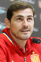 Iker Casillas during comercial event during Spanish national football team stage. March 22,2016. (ALTERPHOTOS/Acero)
