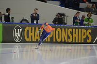 SPEEDSKATING: HEERENVEEN: 11-01-2020, IJsstadion Thialf, European Championship distances, 5000m Men, Patrick Roest (NED), ©foto Martin de Jong