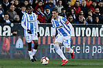 CD Leganes's Ruben Perez during La Liga match between CD Leganes and Levante UD at Butarque Stadium in Leganes, Spain. March 04, 2019. (ALTERPHOTOS/A. Perez Meca)