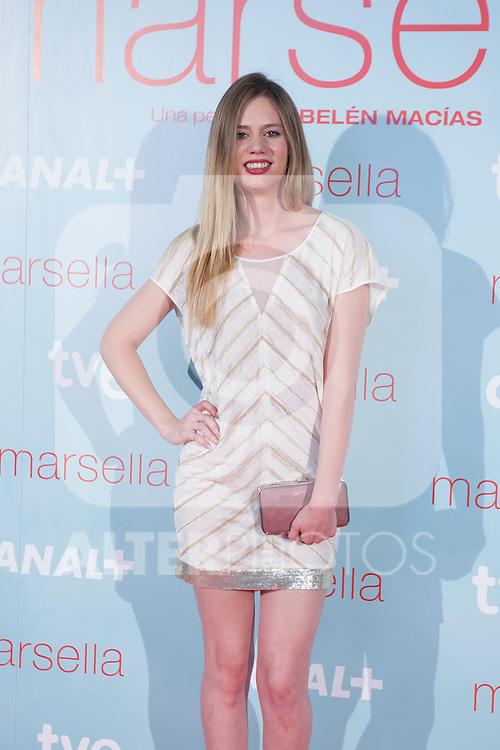 Arancha Marti poses at `Marsella´ film premiere photocall at Capital cinema in Madrid, Spain. July 17, 2014. (ALTERPHOTOS/Victor Blanco)