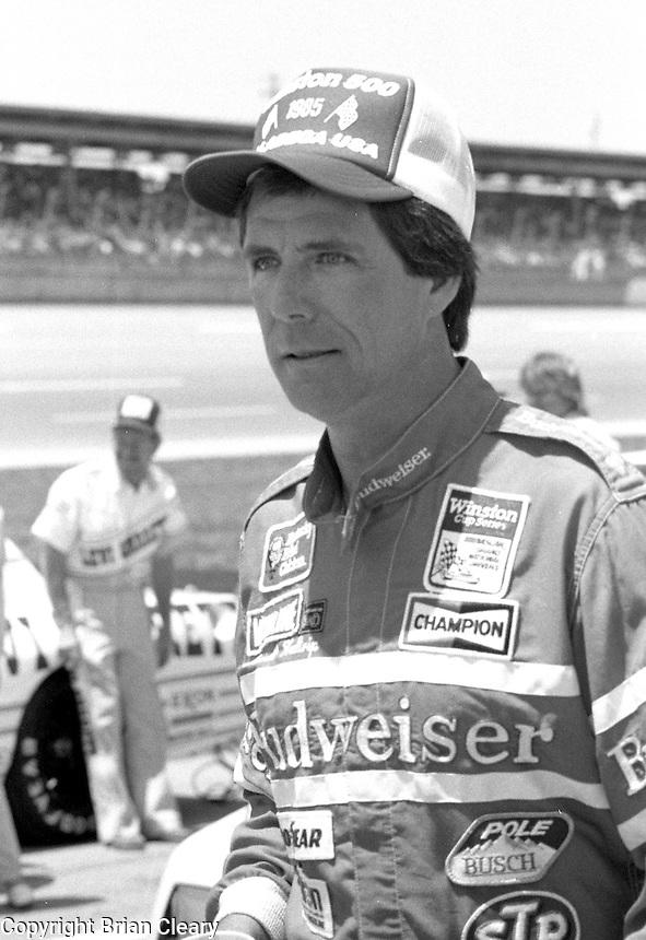 Darrell Waltrip Winston 500 at Alabama International Motor Speedway in Talladega , AL on May 5, 1985. (Photo by Brian Cleary/www.bcpix.com)