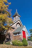 Rustic church, Patterson, New York, USA