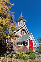 Rustic church, Patterson, New York, USA