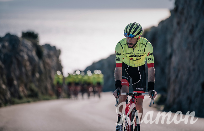 Julien Bernard (FRA/Trek-Segafredo) at Team Trek-Segafredo Mallorca training camp <br /> <br /> January 2018