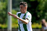 LEEK - Voetbal, Pelikaan S - FC Groningen , voorbereiding seizoen 2021-2022, oefenduel, 03-07-2021, FC Groningen speler Tika de Jonge