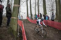 European U23 Champion Quinten Hermans (BEL/U23/Telenet-Fidea)<br /> <br /> UCI Cyclocross World Cup Namur/Belgium 2016