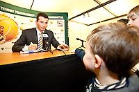 13-2-10, Rotterdam, Tennis, ABNAMROWTT, Kids persconferentie