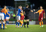 St Johnstone v Galatasaray…12.08.21  McDiarmid Park Europa League Qualifier<br />Ali McCann pictured at full time as saints lose out 4-2<br />Picture by Graeme Hart.<br />Copyright Perthshire Picture Agency<br />Tel: 01738 623350  Mobile: 07990 594431