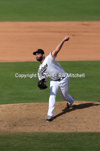 Brandon Alger - Surprise Saguaros - 2014 Arizona Fall League (Bill Mitchell)