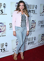 LOS ANGELES, CA, USA - NOVEMBER 02: Actress Kelly Brook arrives at the 2014 Stand Up For Pits Event held at Improv on November 2, 2014 in Los Angeles, California, United States. (Photo by Xavier Collin/Celebrity Monitor)